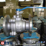 Ball de flutuação Valve com Worm Box Operated (Q41F)