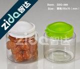 Plastikhersteller-leeres transparentes Haustier-Plastikglas für Nahrung