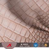 Het nieuwe Klassieke Leer Matherial van pvc van het Leer van de Krokodil voor de Hogere Schoenen van Zakken