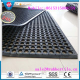Antislip Anti-Fatigue Rubber Kitchen Floor Mat, Drainage Rubber Flooring Mat