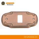 Tampa da potência do interruptor da liga do zinco para a decoração (160-2 GP/SN)
