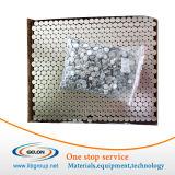 acier inoxydable 18650 de la batterie de canettes et couvercles pour batterie lithium-ion