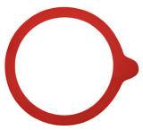 Ring van Weck van het Silicone van de Rang van het voedsel de Doorzichtige, de Pakking van Weck van het Silicone, de Verbinding van Weck van het Silicone met Postcure zonder Geur