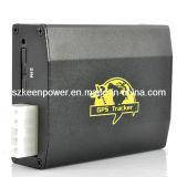 Портативный автомобиля в режиме реального времени GPS Tracker с Quad-Band Dual-SIM GSM и функции сигнализации (GG6028)