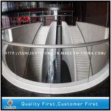Het natuurlijke Witte Marmer van het Kristal van China voor de Tegels en Countertops van de Vloer