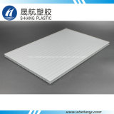 L'opale blanc poly carbonate panneau en plastique creux