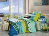 Reine Baumwolle mit reagierender gedruckter Bettwäsche stellte ein (YH1425)