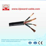 cable eléctrico aislado XLPE de la base de cobre 600V