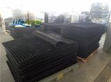 esteras de goma antirresbaladizas de 1020*1020*13m m con los orificios