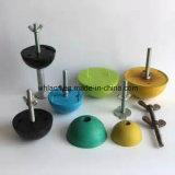 Konkrete runde Plastikaussparung ehemalig für kugelförmige Hauptanker (1.3T-10T)