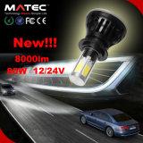 80W LED 차 헤드라이트 H7 80W 고성능 LED H4, H13, 9004, 9007, H7, H8, H9, H10, H11, H16, 9005 의 9006 고성능 LED 헤드라이트