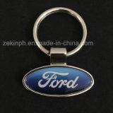 Insignia Keychain de la marca de fábrica del coche de metal de la aleación del cinc de los regalos del coche