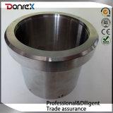 Usinage CNC personnalisé Tuyau en acier inoxydable avec bride