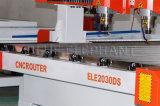 Tagliatrice di pietra delle teste 2030 separati del doppio, pietra di CNC che intaglia macchina, router di pietra di CNC della Cina