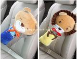높은 Quatity 아이 만화 동물성 견면 벨벳 차 안전 안전 벨트 덮개