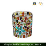 Mosaik Glass Tealight Candle Holder Supplier für Home Decor