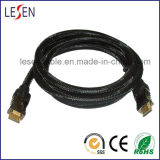 Cable de HDMI de Alta Velocidad , Ethernet de Ayudas, Audio 3D y Vuelta (varón al Varón)