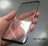 S8端のSamsung S8の端の緩和されたガラススクリーンの保護装置のためと