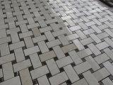 Mattonelle di mosaico del marmo della pietra delle mattonelle di pavimentazione della parete