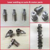 A máquina de soldadura automática do laser 3D para o transdutor, bateria, liga de alumínio, utiliza ferramentas a soldadura