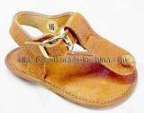 Pele genuína exclusivamente programável Casual calçados para meninos e meninas Moccasins em pele do bebé