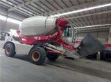 3.0m3 de zelfPrijs van de Vrachtwagen van de Concrete Mixer van de Lading
