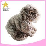 China pluche gevulde Rabbit Toy Animal Plush gevulde gewogen speelgoed Voor baby's