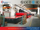 Southtech doppelte Raum-flaches Glas-keramische Rolle, die Machine&#160 aufbereitet; (Serie TPG-2)