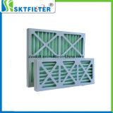 Покрасьте воздушный фильтр картона стопа