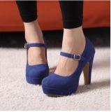نساء [سود] إبزيم مسيكة من كعب عادية خاصّة أحذية وحيد