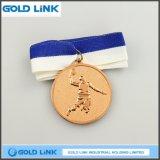 El medallón de encargo del oro del baloncesto de la medalla se divierte artes de la medalla