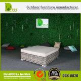 Set de sofá de vime seccional de jardim Móveis de Rattan ao ar livre