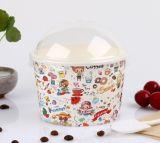 Taza de papel del helado del OEM Gelato