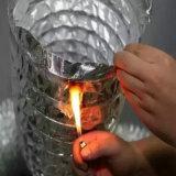 Condotto di alluminio a prova di fuoco di Flexibe per la HVAC