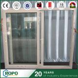 Puerta deslizante plástica del nuevo estilo con el vidrio esmaltado aislador doble