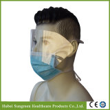 Non-Woven descartáveis máscara de proteção para os olhos com atilhos