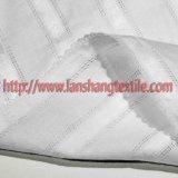 Tela de algodón teñido de tela jacquard teñido de la capa de vestido de la mujer de la falda Niños y rsquor; S prenda.