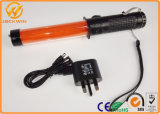 Type de batterie extérieure Sécurité LED Traffic Portable Wand Baton for Police