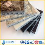Het lichtgewicht Comité van de Honingraat van het Aluminium van de Steen Marmeren voor de Bekleding van de Muur