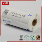 Rodillo adhesivo del papel termal