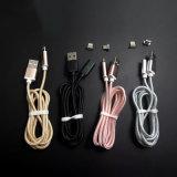 Venda de folga! ! ! cabo de carregamento USB magnético trançado Nylon grossista para o Tipo C