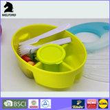 Casella di pranzo del recipiente di plastica del pacchetto di ghiaccio di LFGB