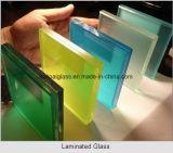 Marcação ce de alta qualidade certificada 3-25mm claro e vidro laminado temperado ultratransparente