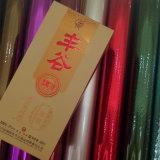Red Hot Stamping Foil para caja de embalaje