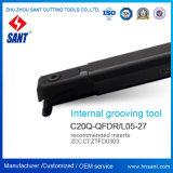 흠을 파기를 위한 Indexable 절단 도구 (CNC 선반 기계)