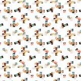 Ausdehnungs-Gewebe-gedrucktes Polyester-Gewebe für Kleid (PPF-076)