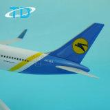B767-300 de Oekraïense Luchtvaartlijnen van Boeing 27cm Vliegtuigen van de Vertoning van het 1:200 Model