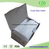 Cirurgião cirúrgico de máscara facial descartável para crianças e adultos brancos