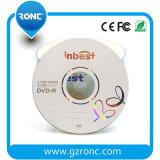 Velocità in bianco del commercio all'ingrosso 4.7GB DVDR DVD 16X di marca di Inbest