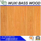 Pisos laminados de madera de nogal de alto brillo